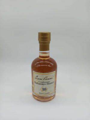 CONDIMENTO BALSAMICO BIANCO 10, 250 ml.