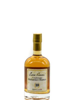 CONDIMENTO BALSAMICO BIANCO 10, 500 ml.