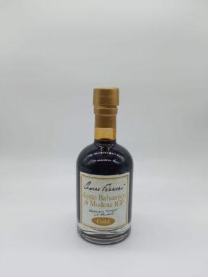 ACETO BALSAMICO DI MODENA IGP GOLD, 250 ml.