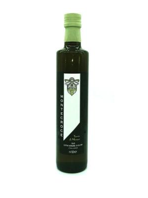 OLIO EXTRAVERGINE DI OLIVA MONTECROCE TERRE DI MEZZO, 500 ml.
