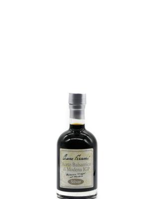 ACETO BALSAMICO DI MODENA IGP SILVER, 250 ml.
