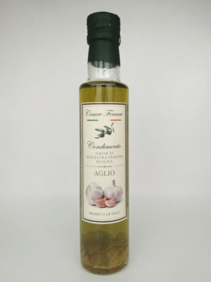 Olio Extravergine Di Oliva All'Aglio 250ml