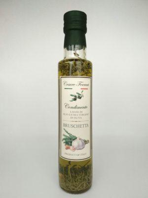 Olio Extravergine Di Oliva Per Bruschetta 250ml