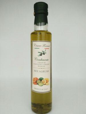 Olio Extravergine Di Oliva Agli Agrumi 250ml